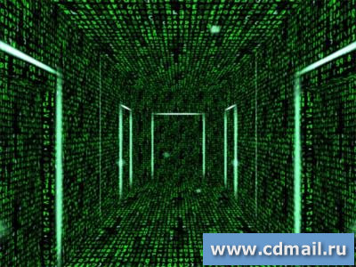 Скриншот 3D Matrix Corridors Screensaver