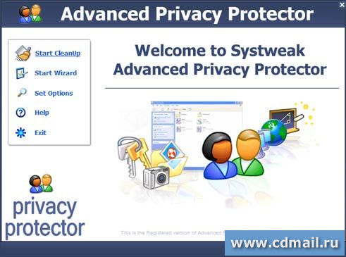 Скрин Advanced Privacy Protector