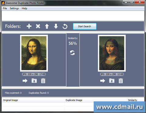 Скриншот Awesome Duplicate Photo Finder