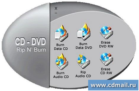 Скриншот BPS CD-DVD Rip & Burn