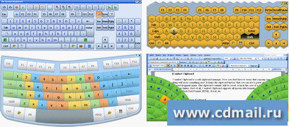 Скриншот Comfort On-Screen Keyboard Pro