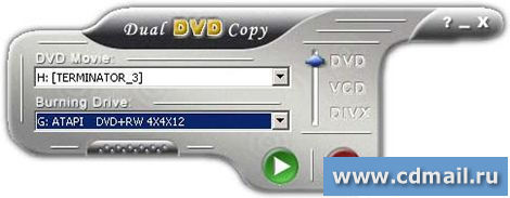 Скриншот Dual DVD Copy Gold