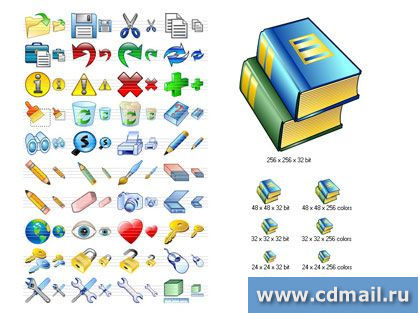 Скрин E-mail Icon Set