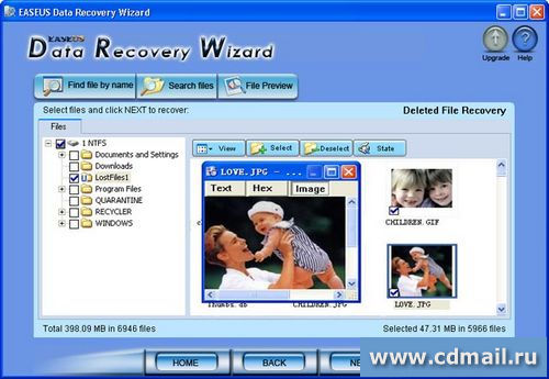 Скрин EASEUS Data Recovery Wizard Professional