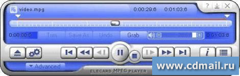 Скрин Elecard MPEG Player
