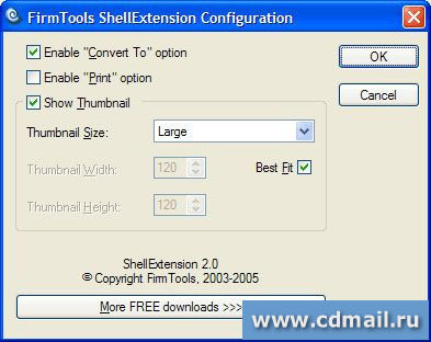 Скриншот FirmTools ShellExtension