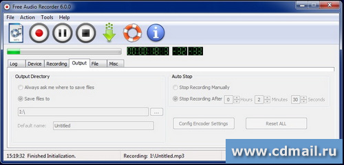 Скрин Free Audio Recorder