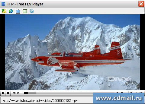 Скриншот Free FLV Player