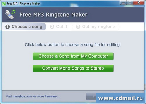Скриншот Free MP3 Ringtone Maker