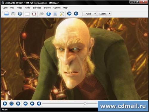 Скриншот MPlayer for Windows