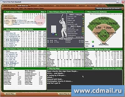 Скриншот Out of the Park Baseball 2007