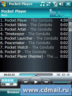 Скриншот Pocket Player