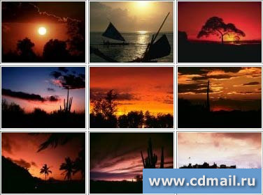 Скриншот Sunsets Around The World