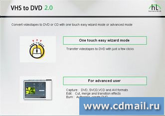 Скриншот VHS to DVD Deluxe