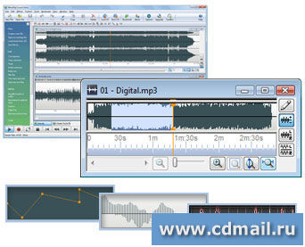 Скриншот WavePad Audio Editor