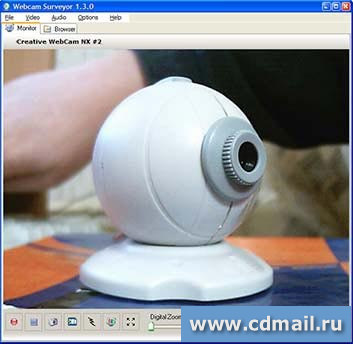 Скрин Webcam Surveyor