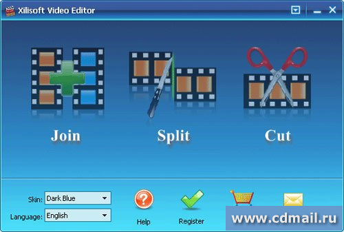 Скрин Xilisoft Video Editor