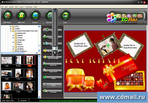 Скриншот ZC Dream Photo Editor Free
