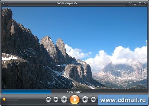 Скриншот Zoom Player