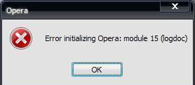 opera module: 15 log doc.