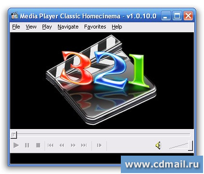 Интерфейс Media Player Classic Home Cinema